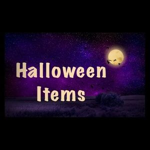 Halloween Items Below 🎃